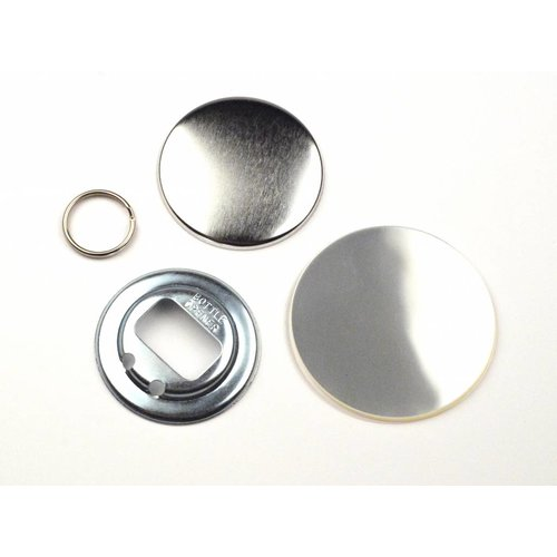 Bottle opener Button parts 56mm / 100 sets