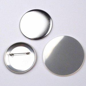 Button Onderdelenset, speld, 56mm (per 100 sets)