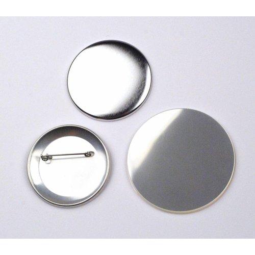 Fournitures pour badges, épingle, 56mm / par 100 sets