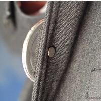Attache magnétique, rond 8mm