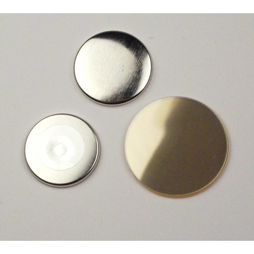 Magneetbutton onderdelensets 38mm / 100 sets