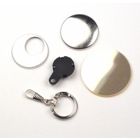 Key Hanger Button parts 38mm (per 100 sets)