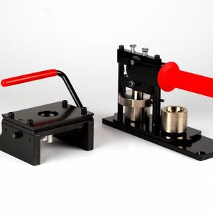 Button Machine & Punch 25mm (1 inch) - Bundle