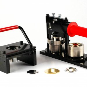 Machine à bouton et poinçon 44mm (1 3/4 pouce) - Bundle