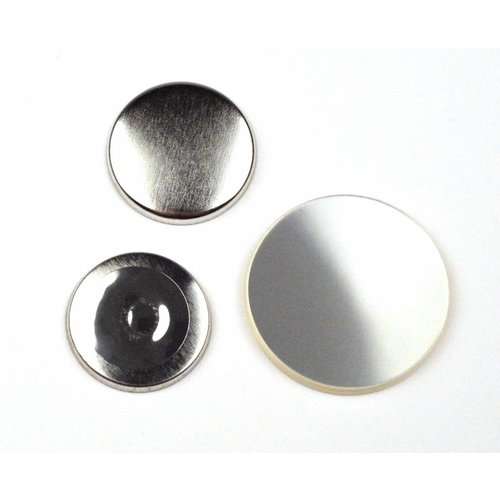 Magneetbutton onderdelensets 32mm / 100 sets