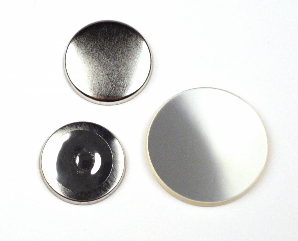 32mm 100sets ND Magnet Button BadgePart components for Button Maker