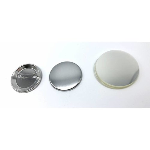 Button Onderdelenset, speld, 44mm / 100 sets