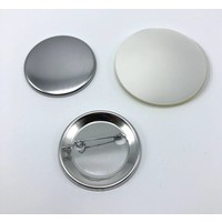 Button parts, pinned back, 44mm (per 100 sets)