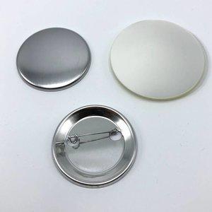 Pièces de bouton épinglées, 44 mm (per 100 sets)