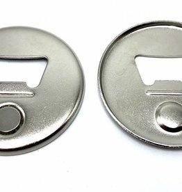 Magnetische Flessenopener Button Onderdelenset, 56mm (2-1/4 inch)