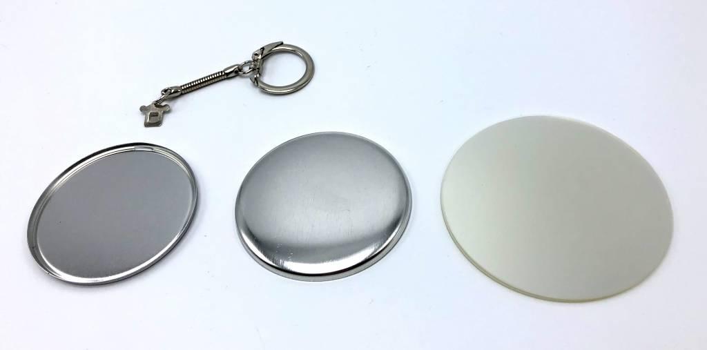 Sleutelhanger button onderdelensets 56mm (2 1/4 inch)