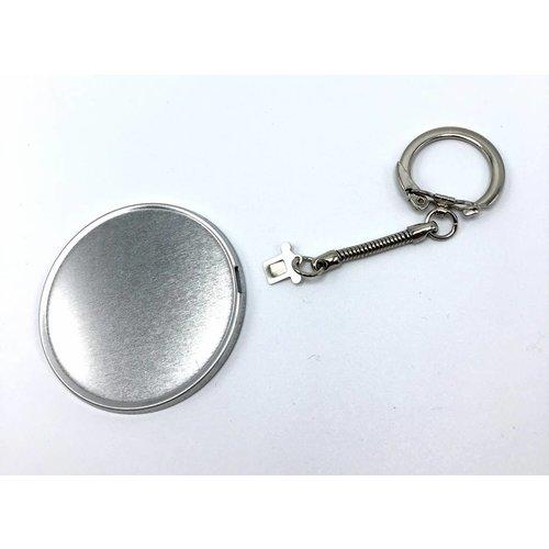 Key Hanger Button parts 56mm / 100 sets