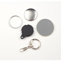 Key Hanger Button parts 32mm (per 100 sets)