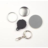 Sleutelhanger button onderdelensets 32mm (1 1/4 inch)