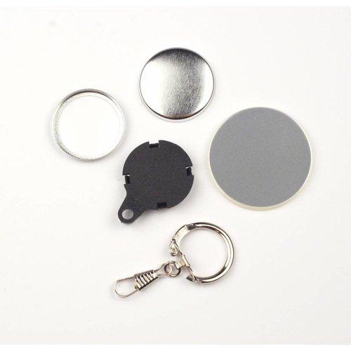 Pièces pour boutons clés 32mm / 100 sets