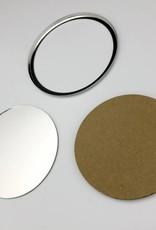 Spiegel, Button Onderdelenset, 75mm (3 inch)