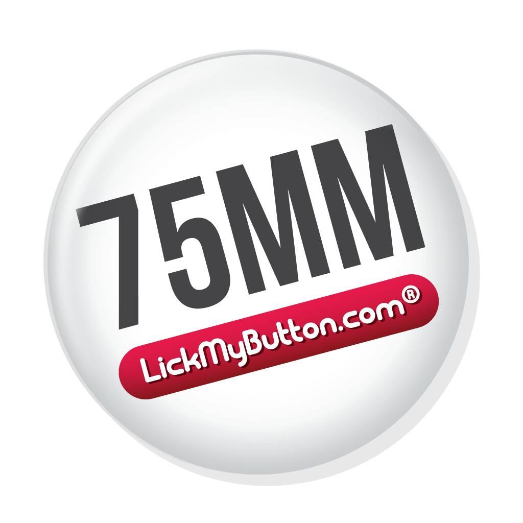 75mm round custom buttons - Mirror