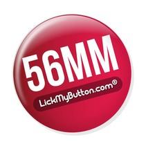 56mm ronde buttons - Flatback + Kledingmagneet
