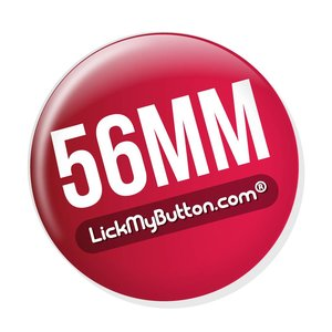 56mm round buttons - Metal Flatback + Clothing Magnet
