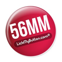 56mm ronde buttons - Spiegel