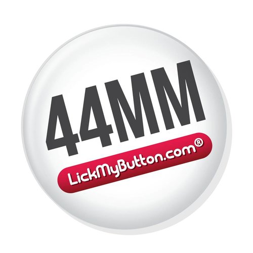 44mm round custom buttons -  Flatback + Clothing Magnet