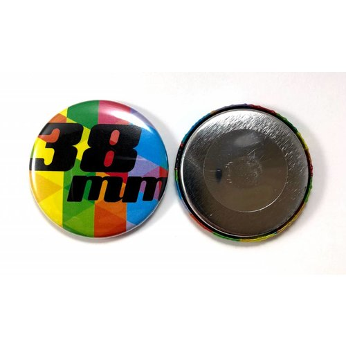 38mm round custom buttons - Magnet