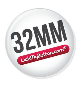 32mm round buttons - Metal Flatback + Clothing Magnet