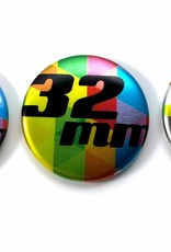 32mm round custom buttons - Magnet