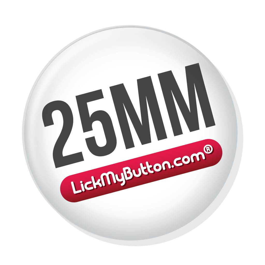 25mm ronde buttons - Speld