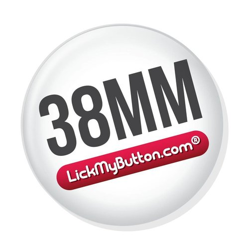 38mm (1 1/2 inch) custom buttons