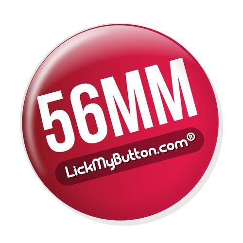 Laissez faire badges de 56mm (2 1/4 inch)