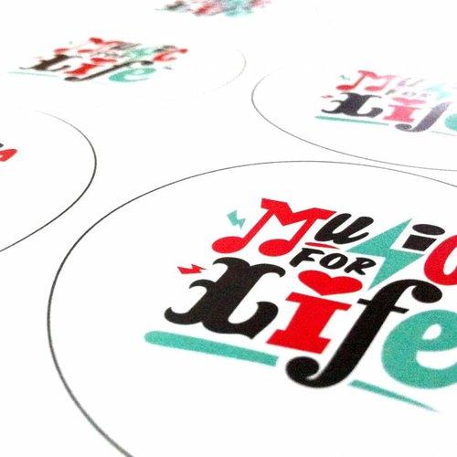 Cercles imprimés (prêt à utiliser)