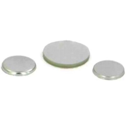 Metalen Flatback button onderdelensets 25mm / 100 sets