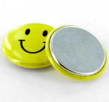 Metal Flatback Button parts 25mm (1 inch)