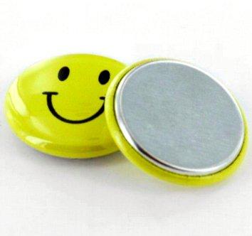Metalen Flatback button onderdelensets 25mm (1 inch)
