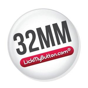 32mm ronde buttons - Sleutelhanger