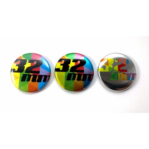 32mm round buttons - Key Hanger