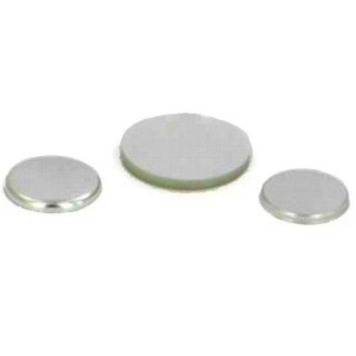 Metalen Flatback button onderdelensets 38mm / 100 sets