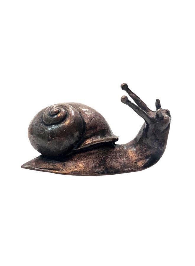 Bronze Schnecke