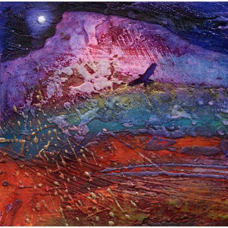 Janine Denby Towards Rainbow Mountain