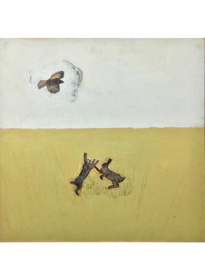 Copy of Soar - mixed media painting