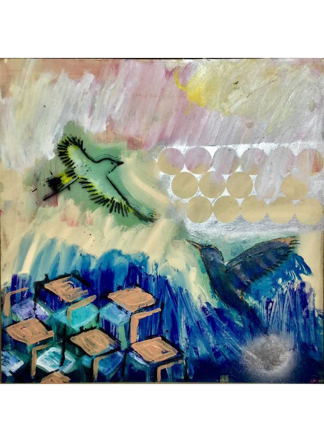 Copy of Dream - mixed media painting