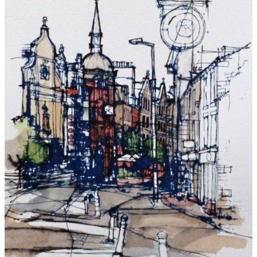Colin Binns Streetscape 1