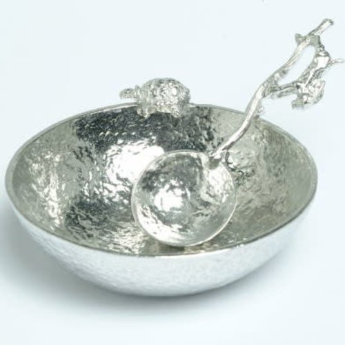 Glover and Smith Hare and Tortoise Bowl and Spoon