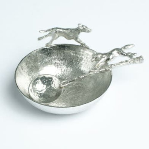 Glover and Smith Hound Bowl and Fox Spoon
