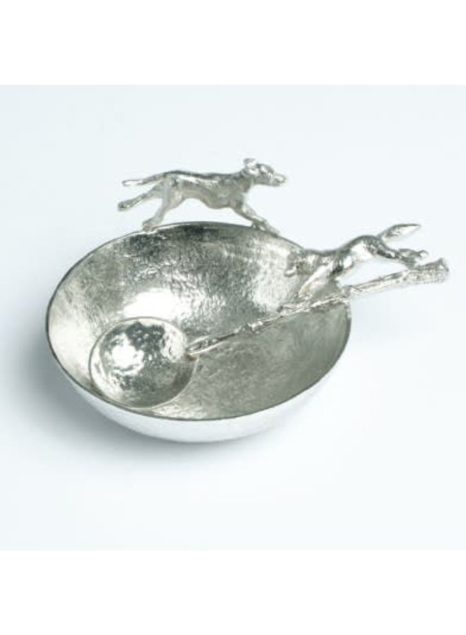 Hound Bowl and Fox Spoon