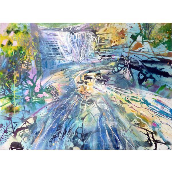Waterfall Gorpley Clough