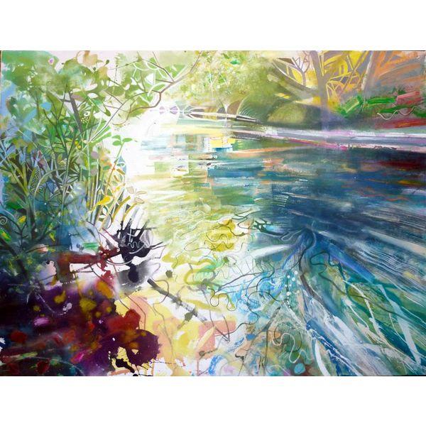 Pitshanger Riverside Sommer