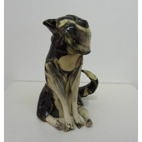 Anna-Mercedies Wear Small Black Cat ceramic sculpture