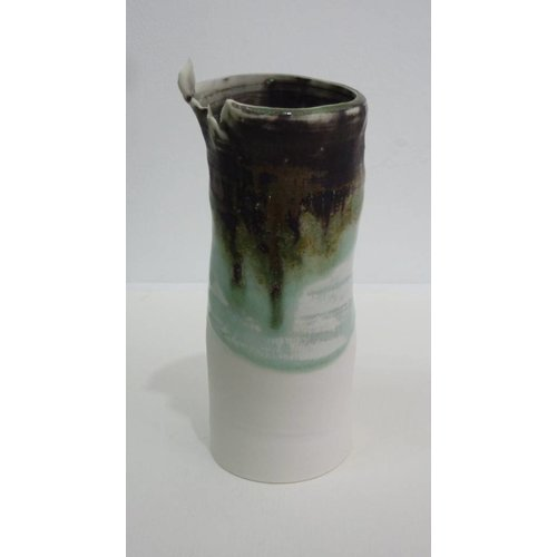 Emily Cross Copy of Tall Porcelain torn rim vase